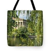 A View Of The Parthenon 10 Tote Bag by Douglas Barnett