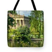 A View of the Parthenon 13 Tote Bag by Douglas Barnett