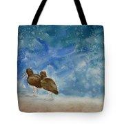 A Walk On The Beach Tote Bag by Estephy Sabin Figueroa