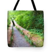 A Well Marked Path Tote Bag by Heidi Smith