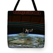 A Woman Studies The World Tote Bag by Frieso Hoevelkamp