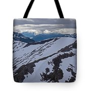 Above The Ridge Tote Bag by Mike Reid