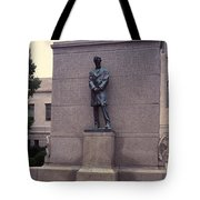 Abraham Lincoln Statue Tote Bag by Granger