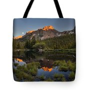 Absaroka Range Reflection Tote Bag by Leland D Howard
