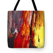 Abstract - Acrylic - Rising power Tote Bag by Mike Savad
