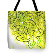 Abstract Fusion 107 Tote Bag by Will Borden