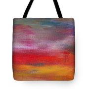 Abstract - Guash And Acrylic - Pleasant Dreams Tote Bag by Mike Savad