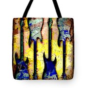 Abstract Guitars Tote Bag by David G Paul