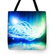 Abstract Lighting Effect  Tote Bag by Setsiri Silapasuwanchai