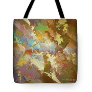 Abstract Puzzle Tote Bag by Deborah Benoit