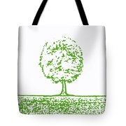 Abstract Tree By Shawna Erback Tote Bag by Shawna Erback