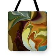 Abstract With Mood Tote Bag by Deborah Benoit