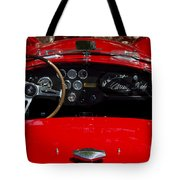 Ac Cobra Tote Bag by Dennis Hedberg