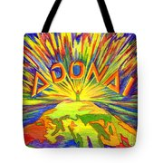 Adonai Tote Bag by Nancy Cupp
