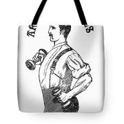 Advertisement: Suspenders Tote Bag by Granger