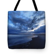 Afterglow On Fire Island Tote Bag by Rick Berk