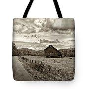 Ah...west Virginia Sepia Tote Bag by Steve Harrington