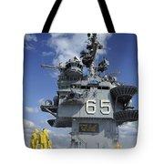 Air Department Sailors Test Tote Bag by Stocktrek Images