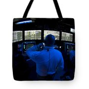 Air Traffic Controller Watches Tote Bag by Stocktrek Images