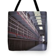 Alcatraz Cell Block Tote Bag by Paul W Faust -  Impressions of Light