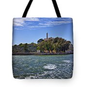 Alcatraz Island San Francisco Tote Bag by Garry Gay