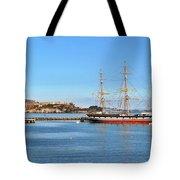 Alcatraz - No Escape Tote Bag by Christine Till