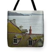 Alcatraz View Tote Bag by Suzanne Gaff
