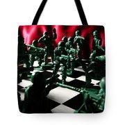 Alekhine's Gun Tote Bag by Lon Casler Bixby