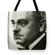 Alfred Adler, Austrian Psychologist Tote Bag by Science Source