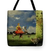 Alice Tote Bag by Martine Roch