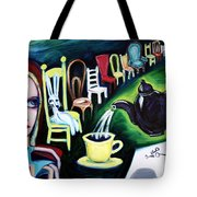 Alice's Choice Tote Bag by LEANNE WILKES