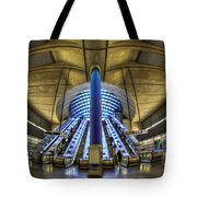 Alien Landing Tote Bag by Evelina Kremsdorf