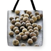 Allspice Berries Tote Bag by Elena Elisseeva