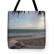 Alluring Tropical Beach Tote Bag by Karen Lee Ensley