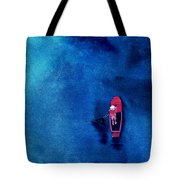 Alone 1 Tote Bag by Anil Nene