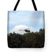 Alouette II Of The Belgian Army Tote Bag by Luc De Jaeger