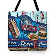 Al's All American Diner Tote Bag by Paul Ward