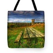 Alwen Reservoir Tote Bag by Adrian Evans