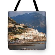 Amalfi Tote Bag by Pat Cannon