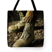 An Air Force Basic Military Training Tote Bag by Stocktrek Images