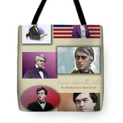 An Audacious American Tote Bag by Sid Webb