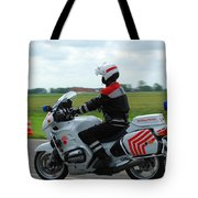 An Officer Of The Military Police Tote Bag by Luc De Jaeger