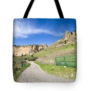 Andalucia Countryside in Spain Tote Bag by Artur Bogacki