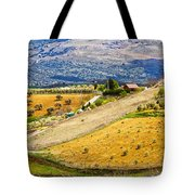 Andalusia Countryside Panorama Tote Bag by Artur Bogacki
