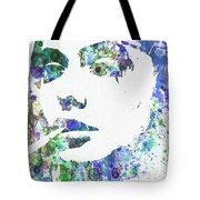 Angelina Jolie Tote Bag by Naxart Studio