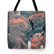 Angels Tote Bag by Bill Cannon