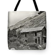 Animas Forks In Blackandwhite Tote Bag by Melany Sarafis