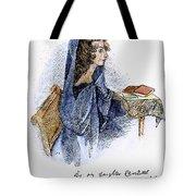 Ann Bronte (1820-1849) Tote Bag by Granger