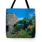 Annaberg Ruins Tote Bag by Kathy Yates