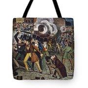 Anti-catholic Mob, 1844 Tote Bag by Granger